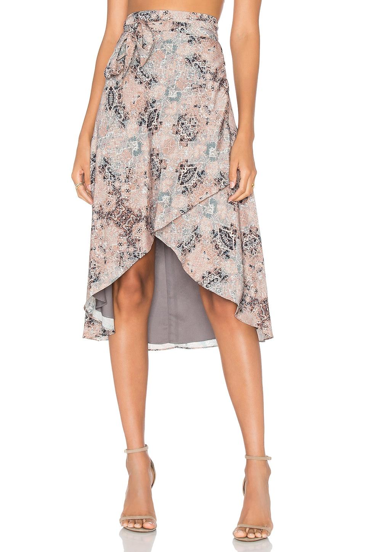 House of Harlow 1960 x REVOLVE Maya Wrap Skirt Mosaic in Kaleidoscope