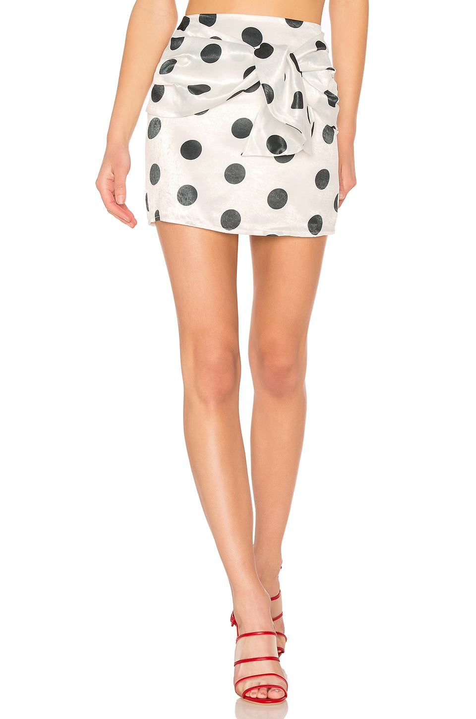 House of Harlow 1960 x REVOLVE Nicholas Skirt in Dot Print