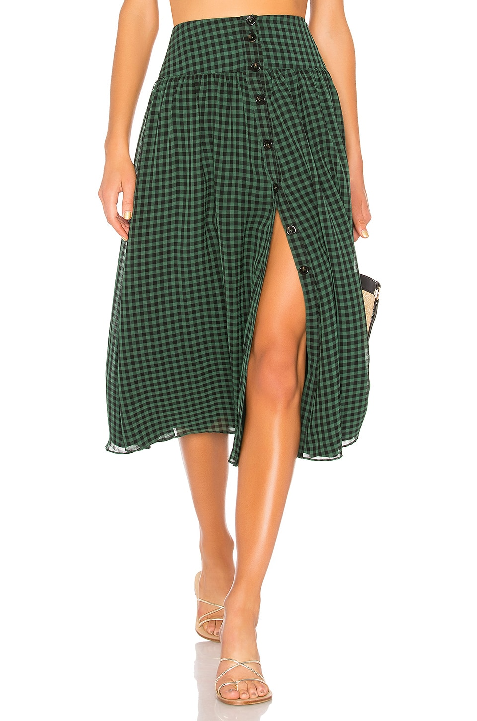 House of Harlow 1960 x REVOLVE Jani Skirt in Forest Green