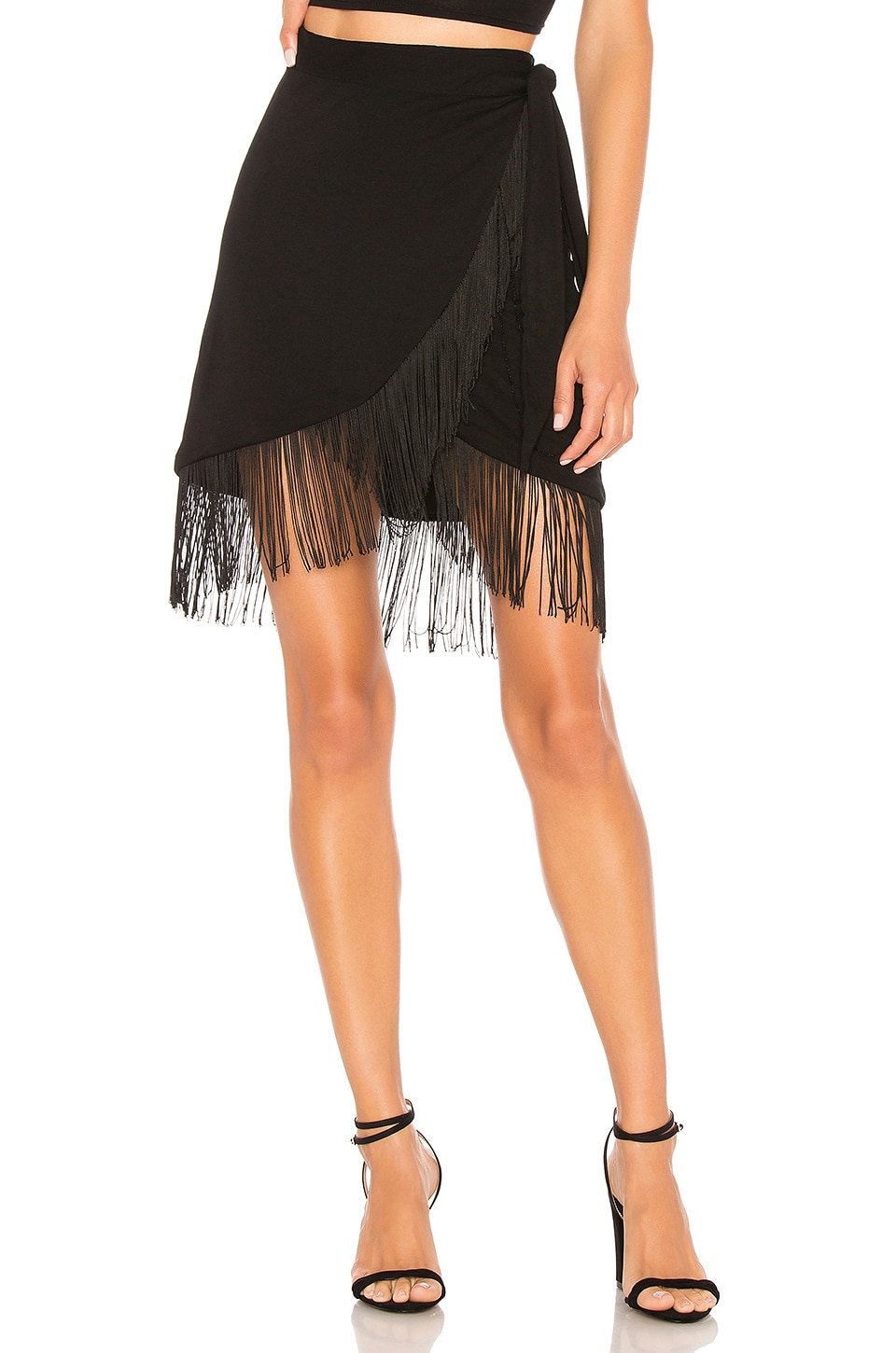 House of Harlow 1960 x REVOLVE Aldo Skirt in Noir