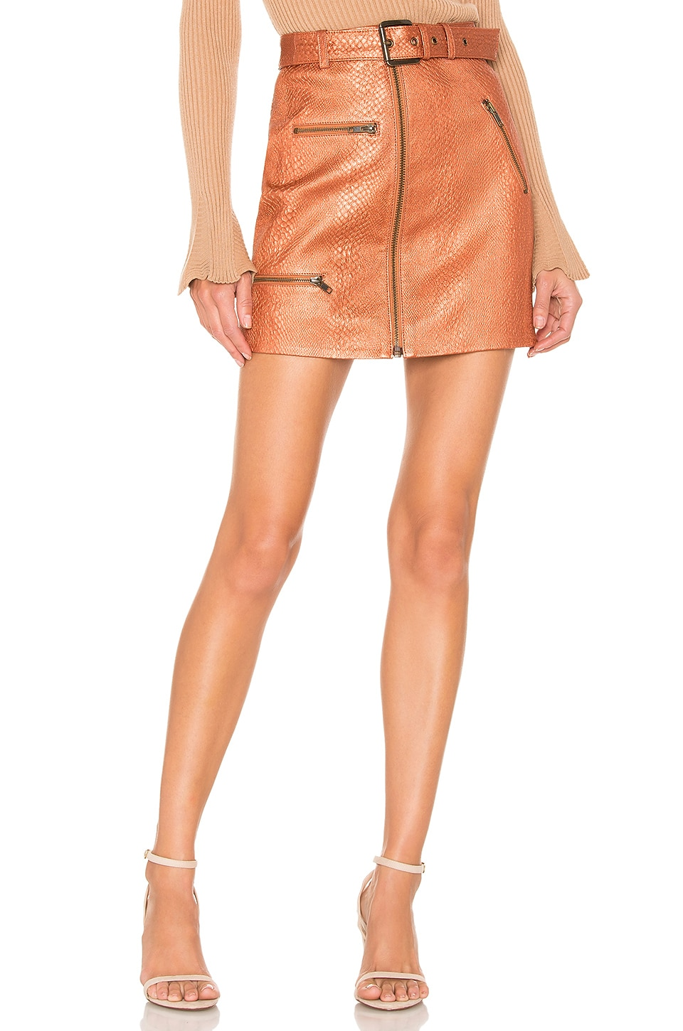 House of Harlow 1960 x REVOLVE Tori Skirt in Bronze