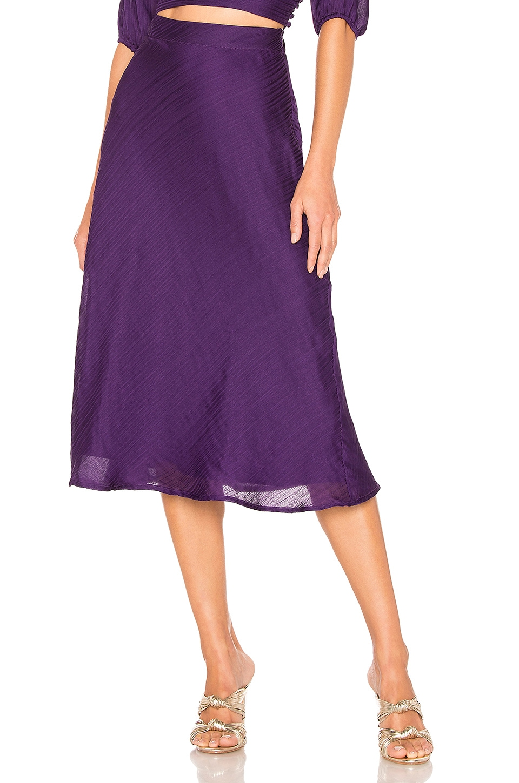 House of Harlow 1960 x REVOLVE Luna Midi in Rich Purple