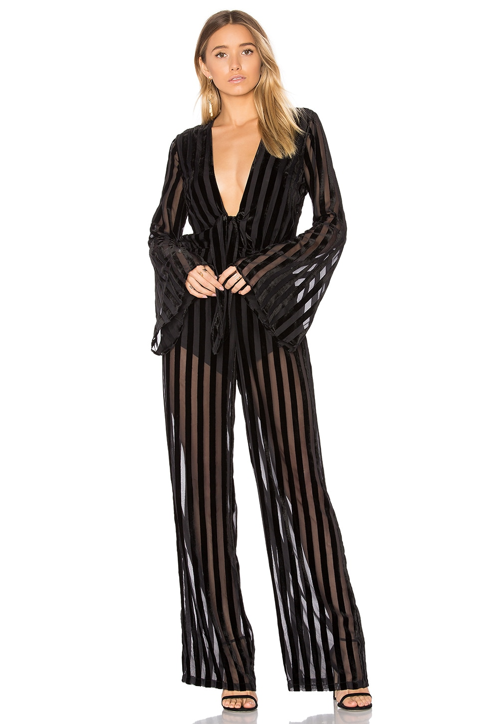 House of Harlow 1960 x REVOLVE Pam Jumpsuit in Black