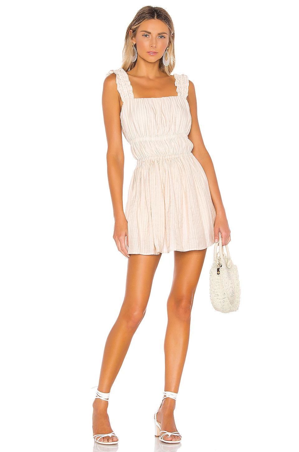 House of Harlow 1960 x REVOLVE Estrella Romper in Ivory
