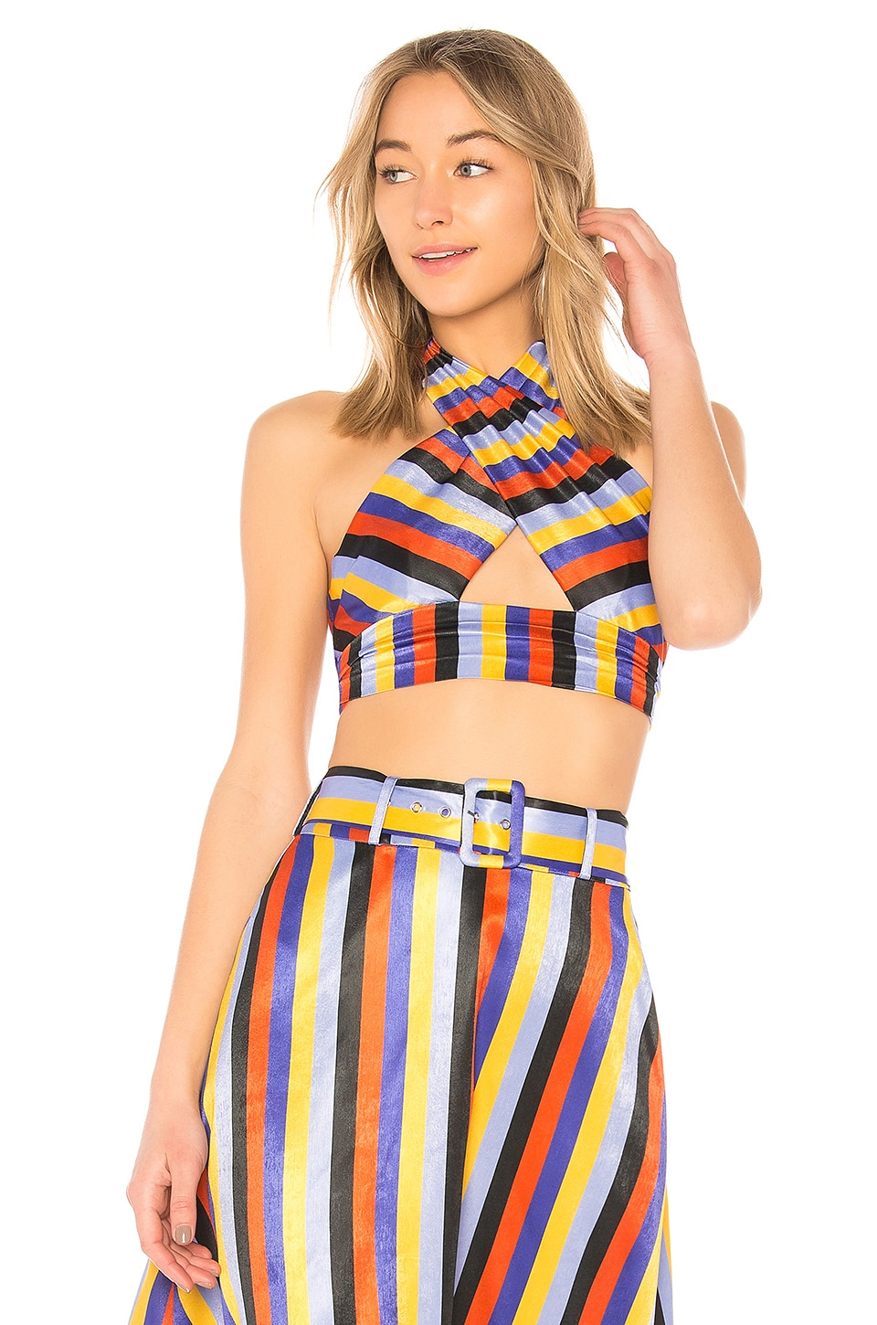 House of Harlow 1960 TOP HALTER JULES