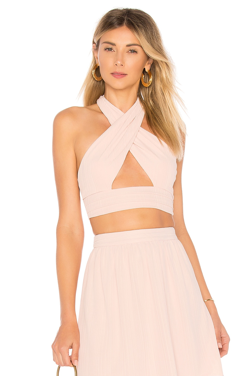 House of Harlow 1960 x REVOLVE Jules Top in Rose Pink