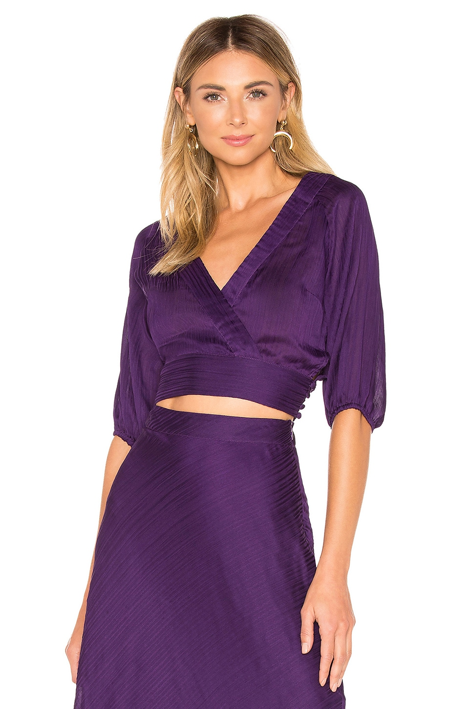 House of Harlow 1960 x REVOLVE Valeria Top in Rich Purple