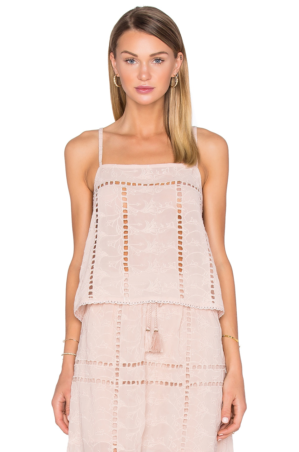 House of Harlow 1960 x REVOLVE Avery Crop in Taupe
