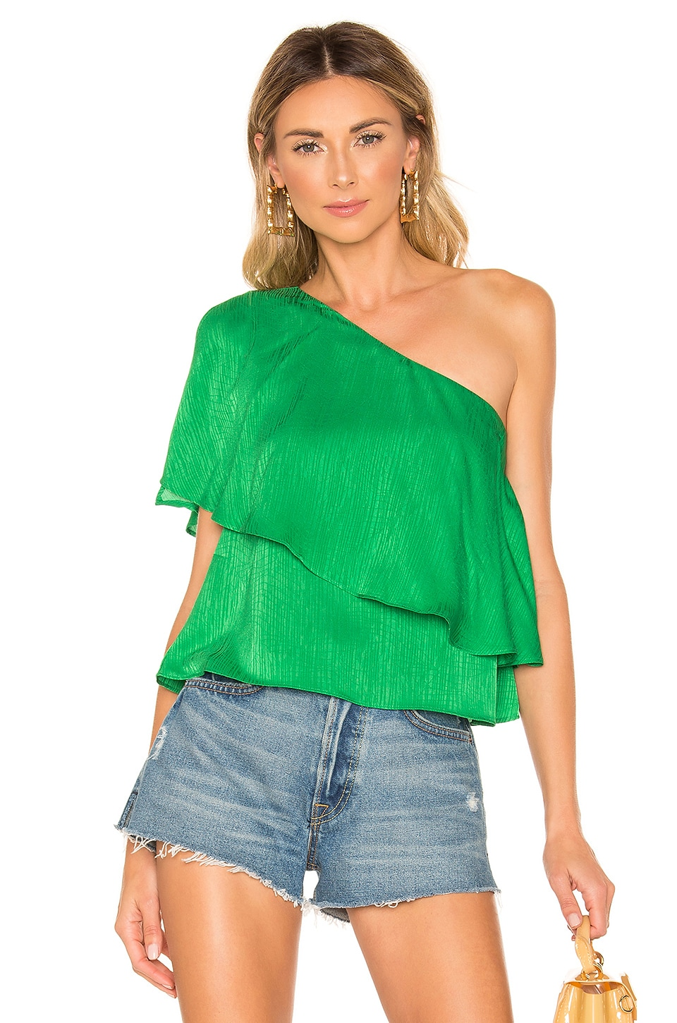 House of Harlow 1960 x REVOLVE Leya Top in Kelly Green