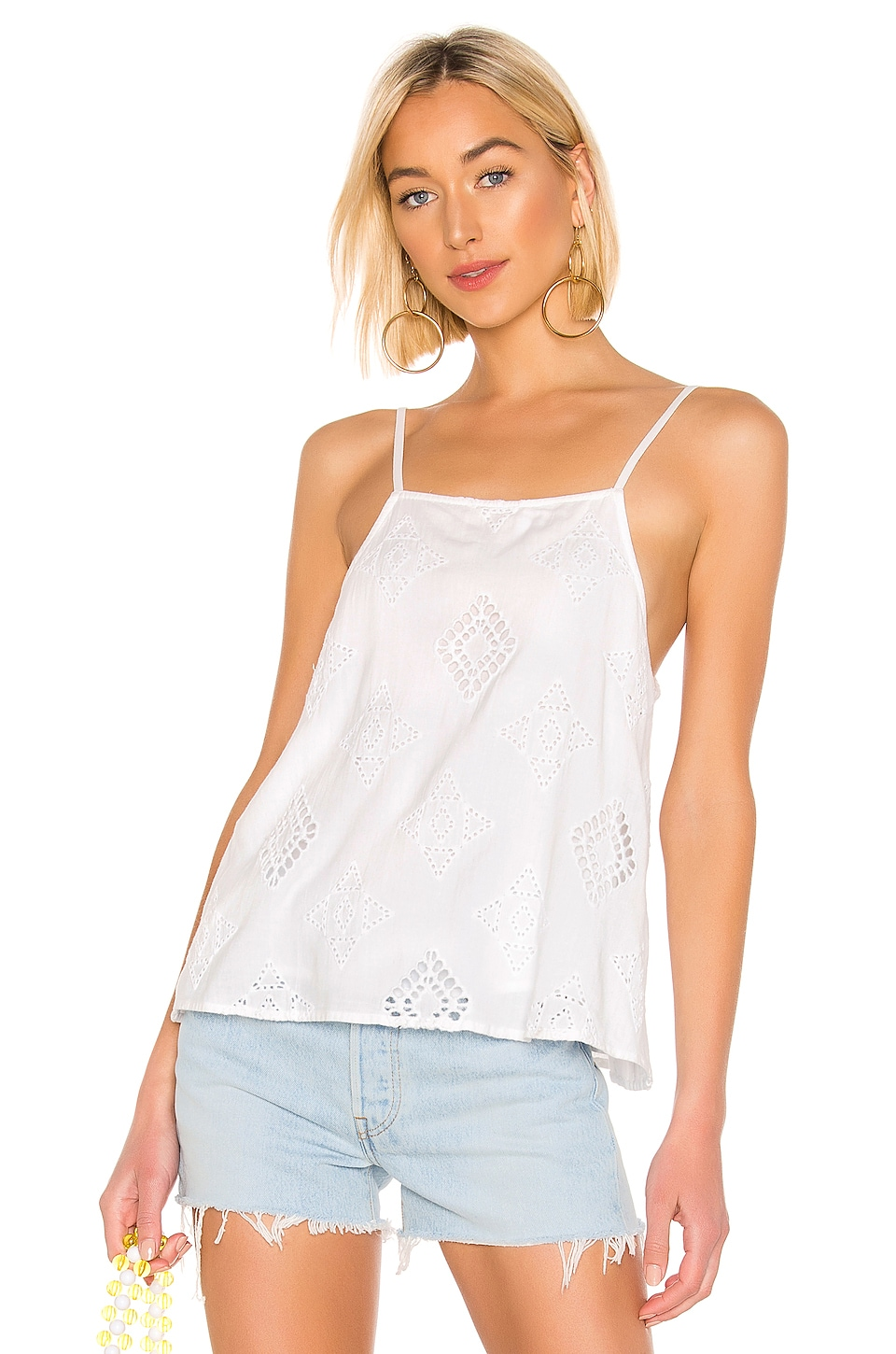 House of Harlow 1960 x REVOLVE Renee Top in Ivory