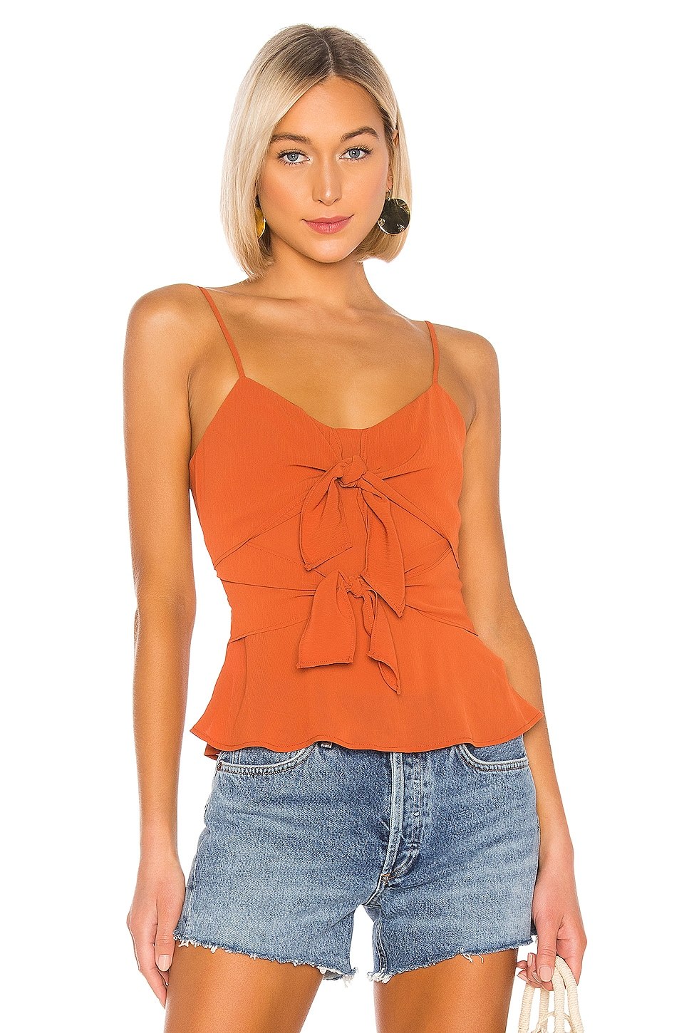 House of Harlow 1960 x REVOLVE Jana Top in Rust