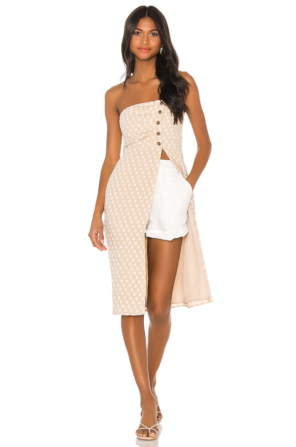 House of Harlow 1960 X REVOLVE Estela Top in Natural