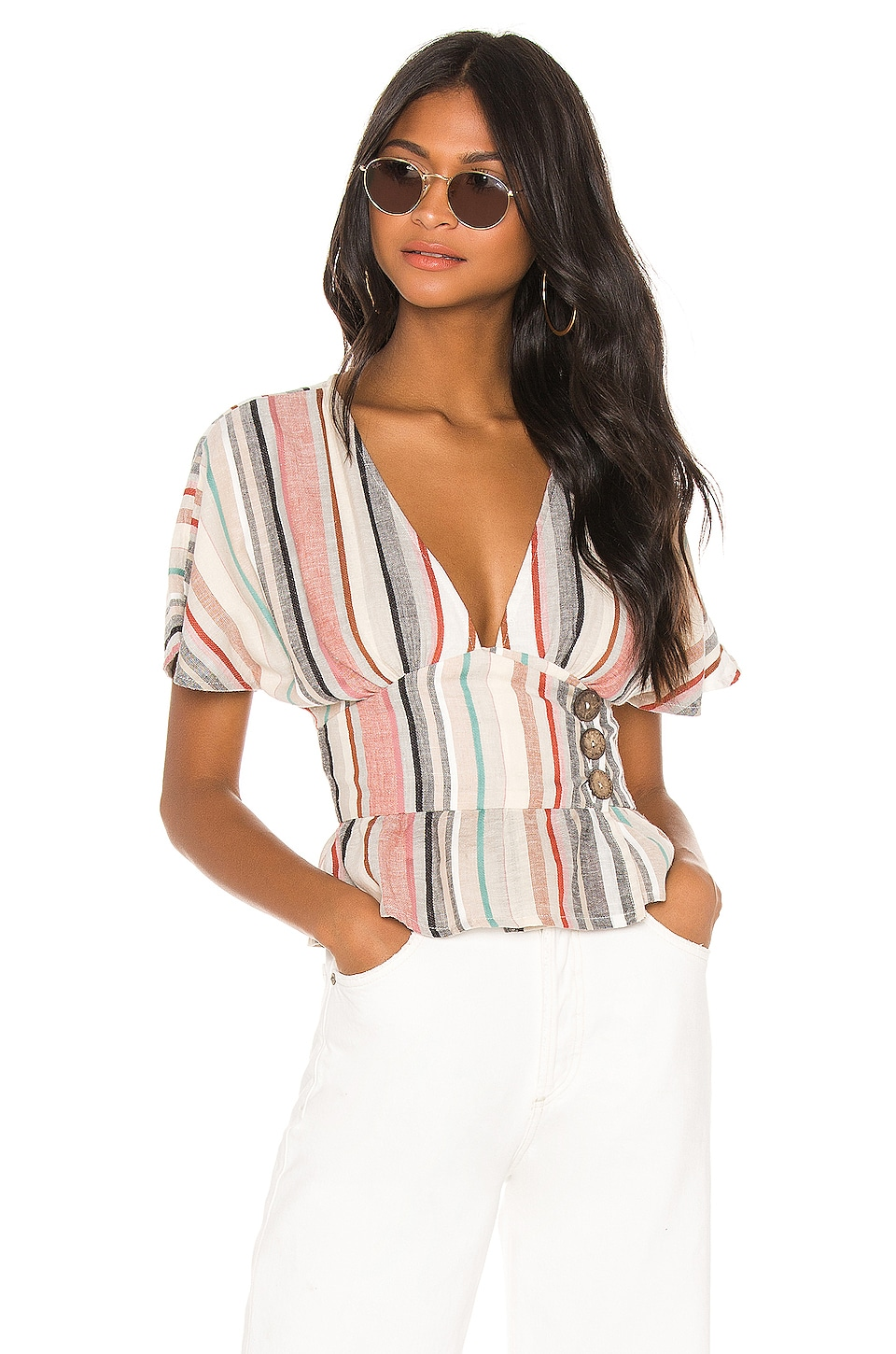 House of Harlow 1960 x REVOLVE Salma Top in Red Multi