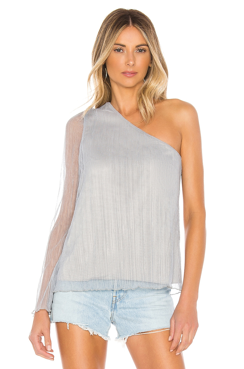 House of Harlow 1960 X REVOLVE Ross Top in Dusty Blue