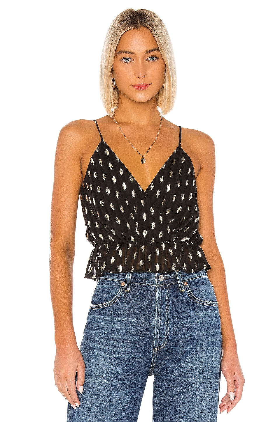 House of Harlow 1960 x REVOLVE Ava Top in Noir