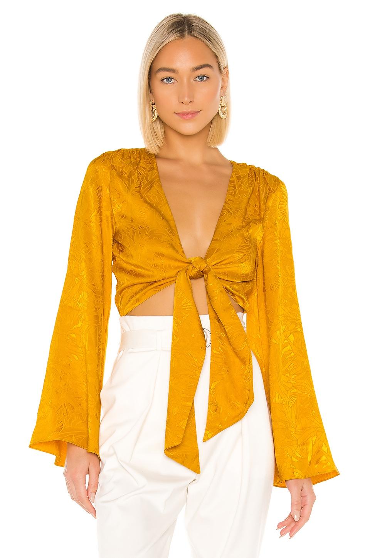House of Harlow 1960 x REVOLVE Selena Top in Mustard
