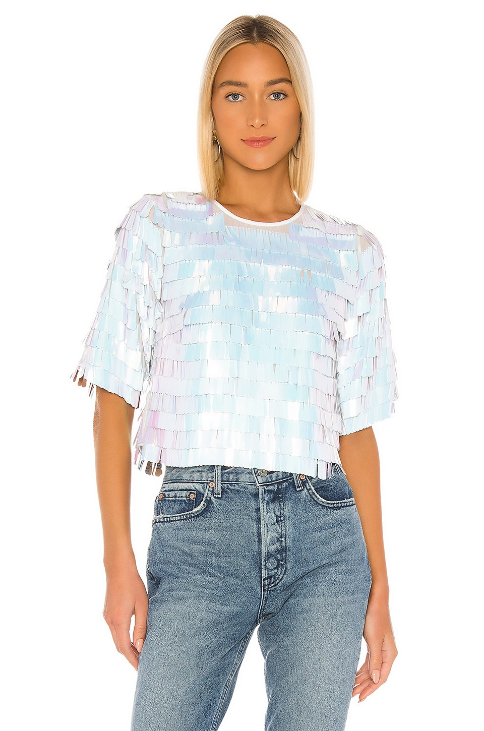 House of Harlow 1960 x REVOLVE Marcel Top in White