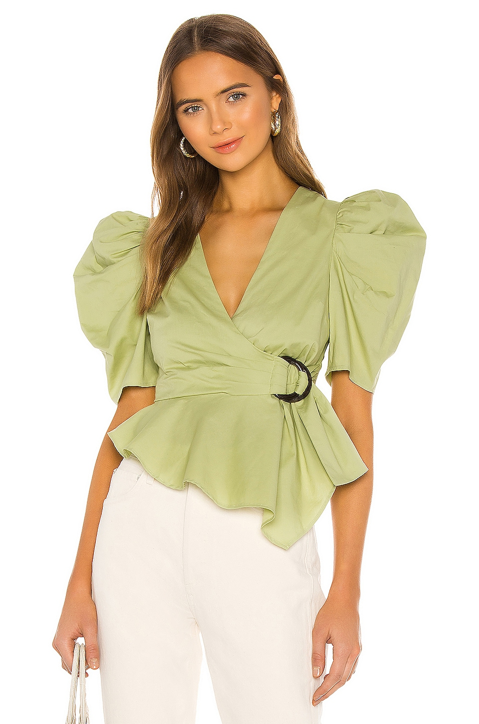 House of Harlow 1960 x REVOLVE Jurie Top en Pistachio