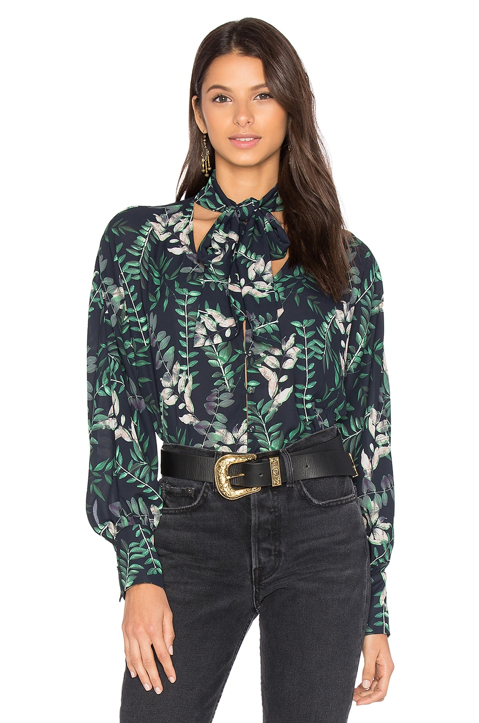 x REVOLVE Estelle Blouse by House Of Harlow 1960