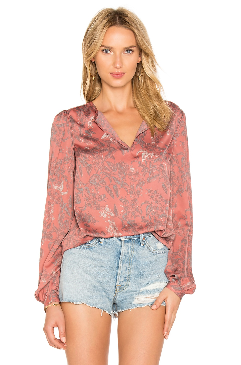 House of Harlow 1960 x REVOLVE Seymore Blouse in Delicate Floral