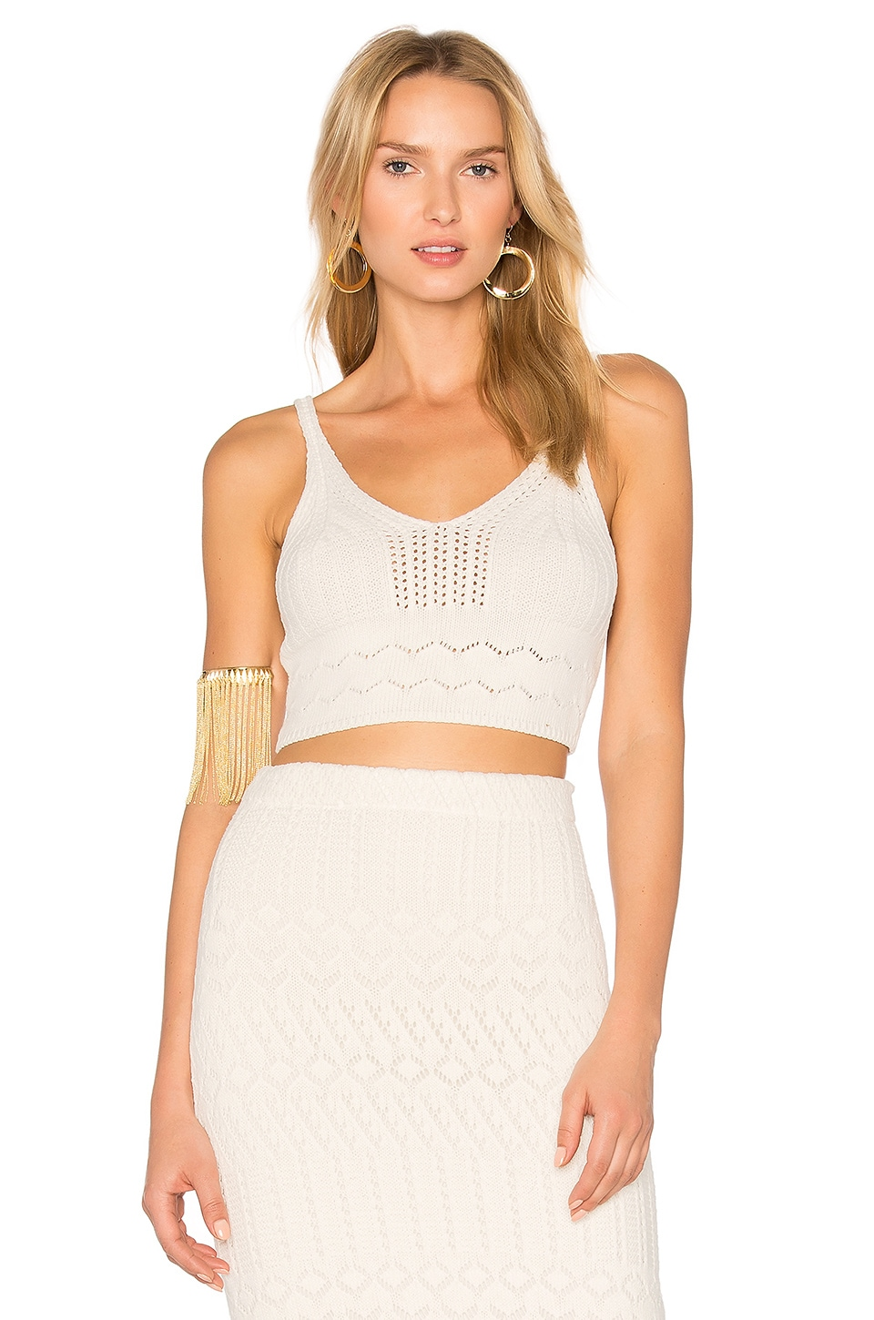 House of Harlow 1960 X REVOLVE Quinn Top in White