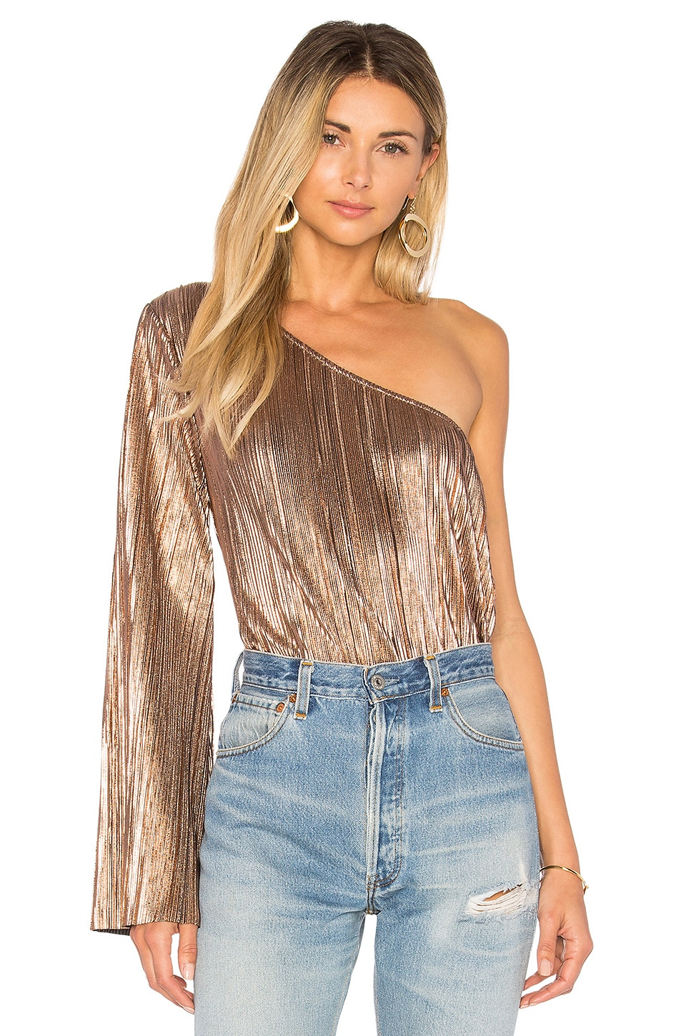 House of Harlow 1960 x REVOLVE Ross Top in Rose Gold