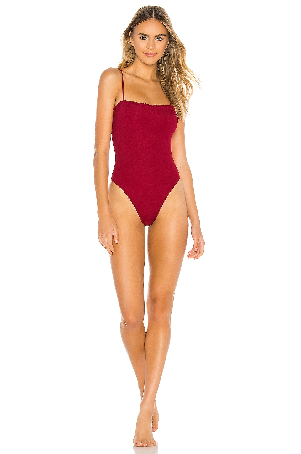 House of Harlow 1960 X REVOLVE Sommers One Piece in Ruby