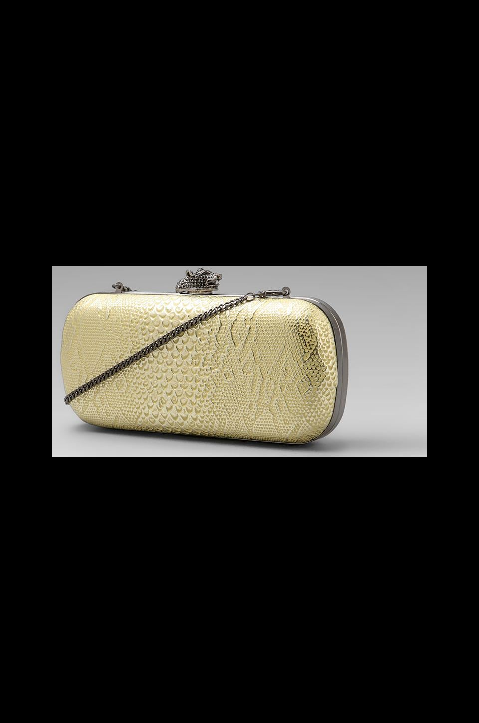 House of Harlow 1960 House of Harlow Addison Clutch in Pewter