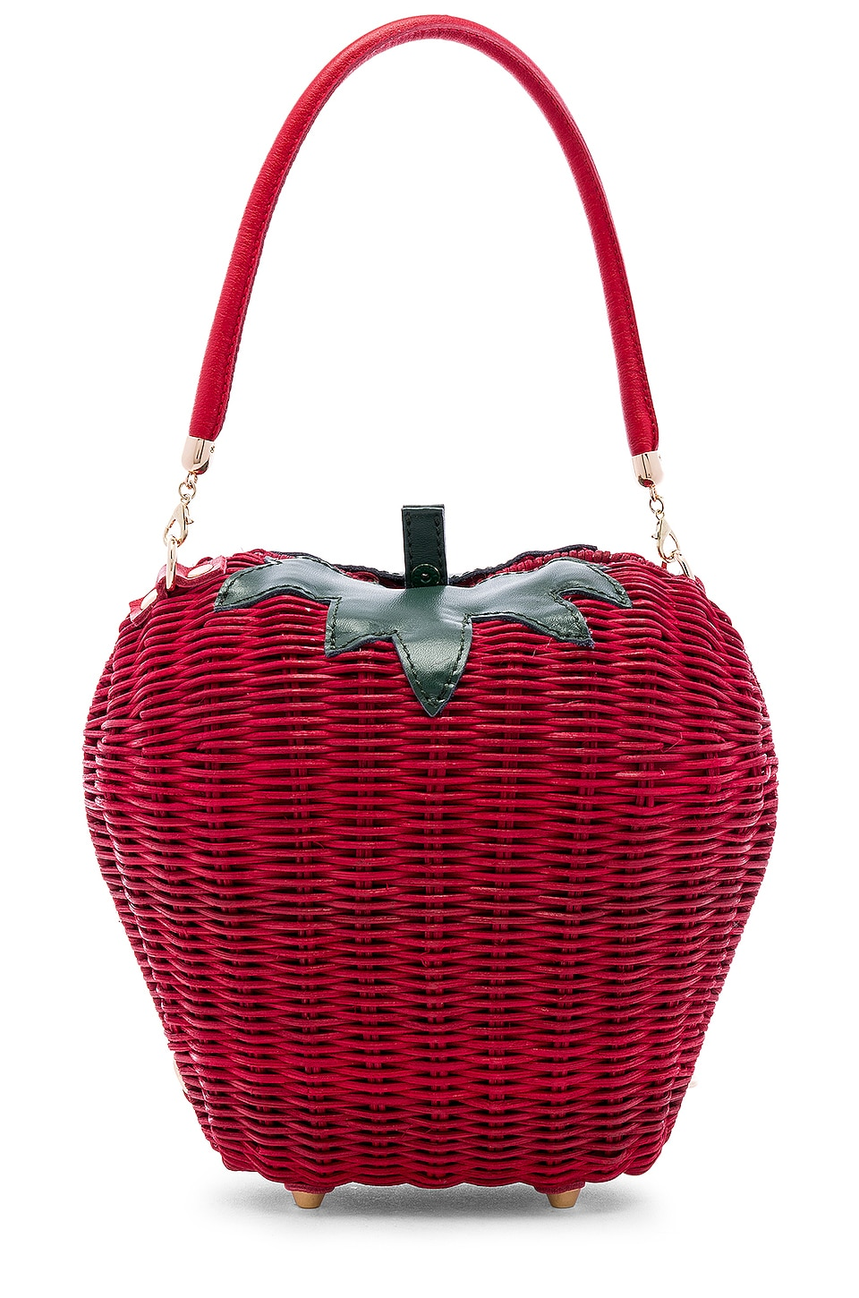 X REVOLVE Rouge Basket Bag