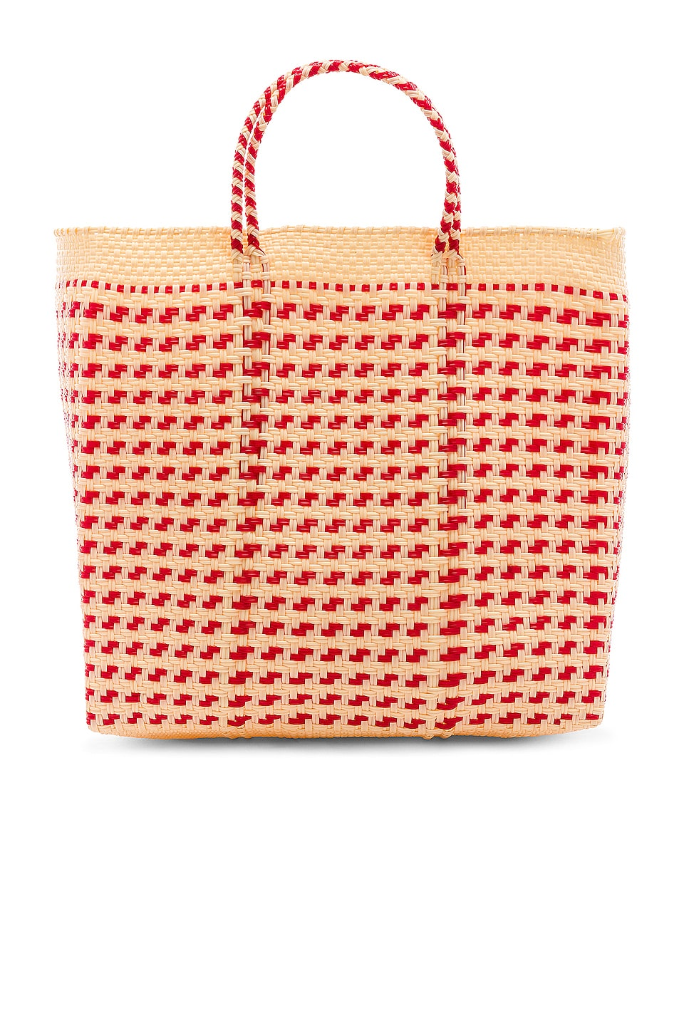 House of Harlow 1960 X REVOLVE Cenote Tote in Red Multi