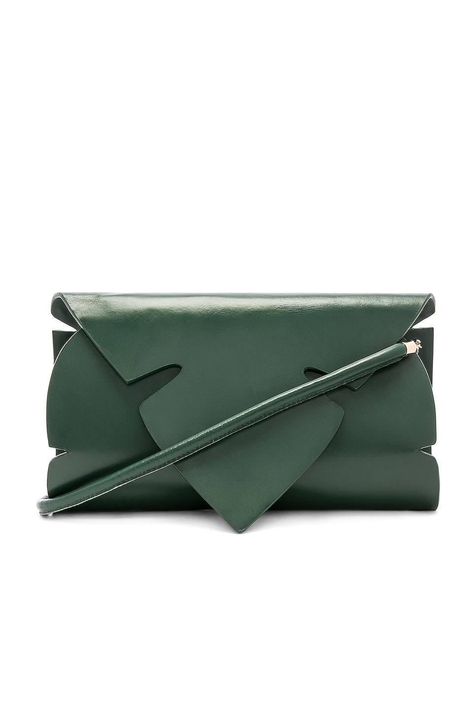 House of Harlow 1960 x REVOLVE Alorha Clutch in Green