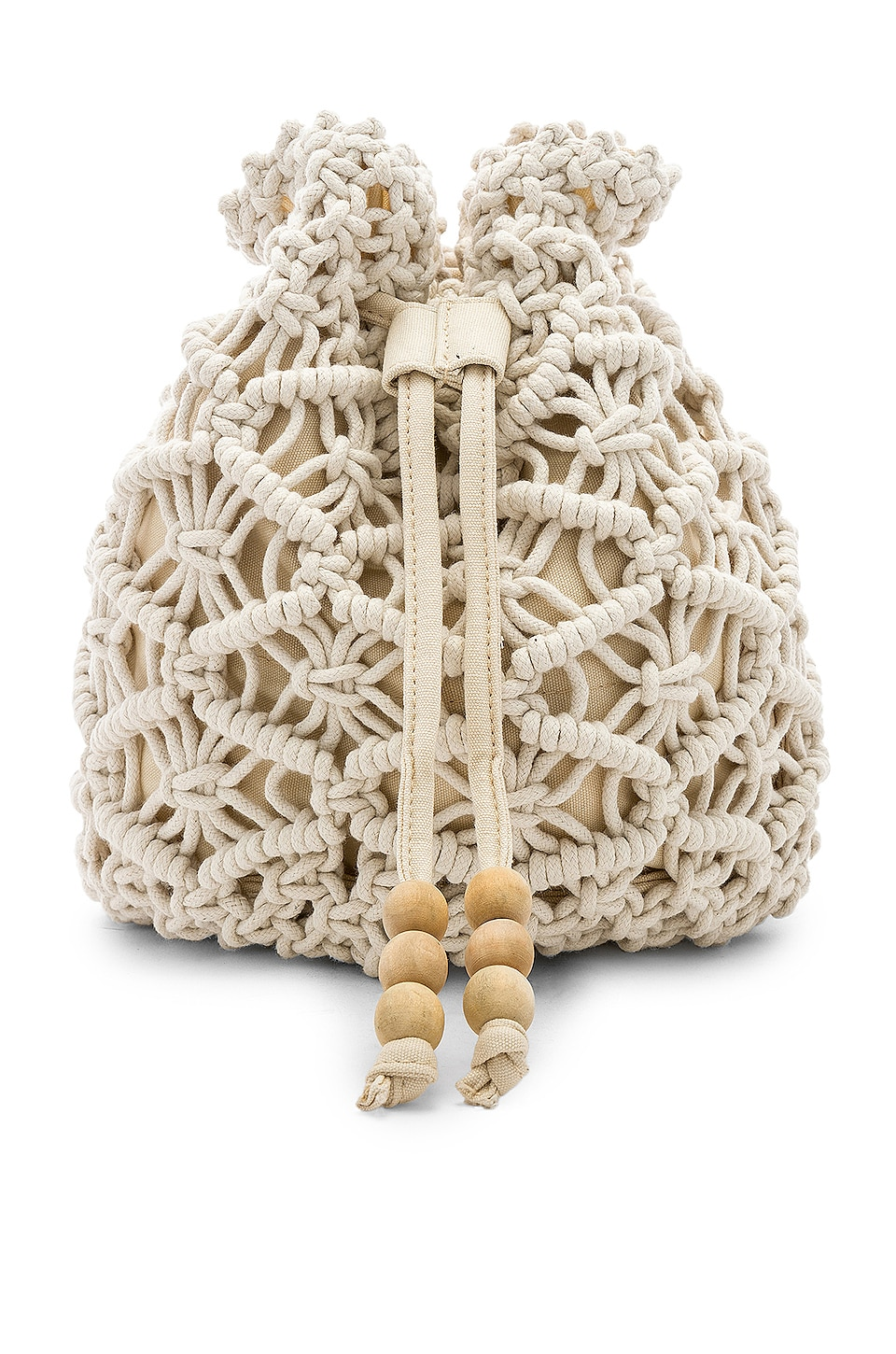 House of Harlow 1960 x REVOLVE Maison Mini Backpack in Ivory