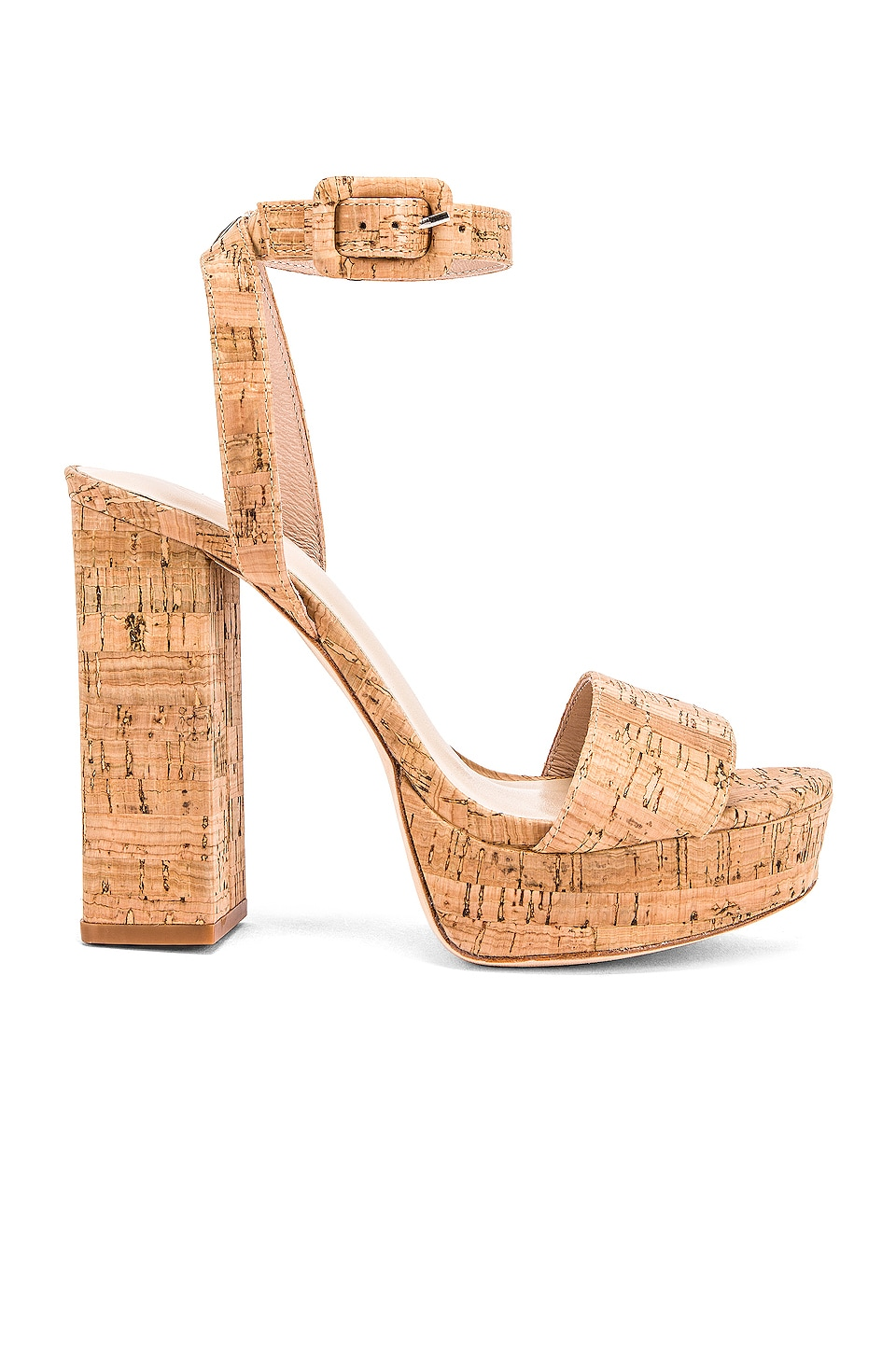 House of Harlow 1960 X REVOLVE Mika Platform Heel in Natural Cork