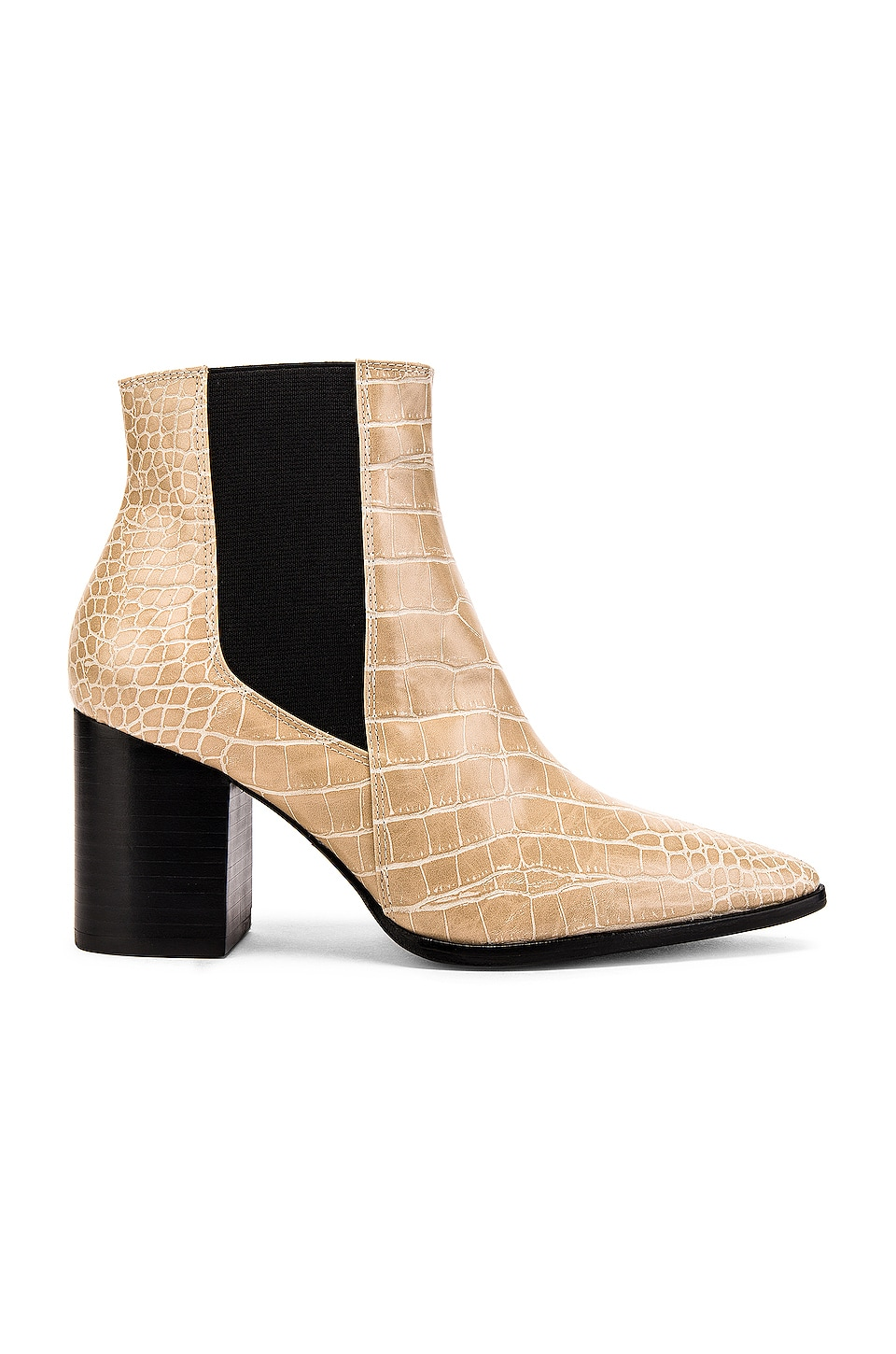 House of Harlow 1960 X REVOLVE Nick Bootie in Nude Croc