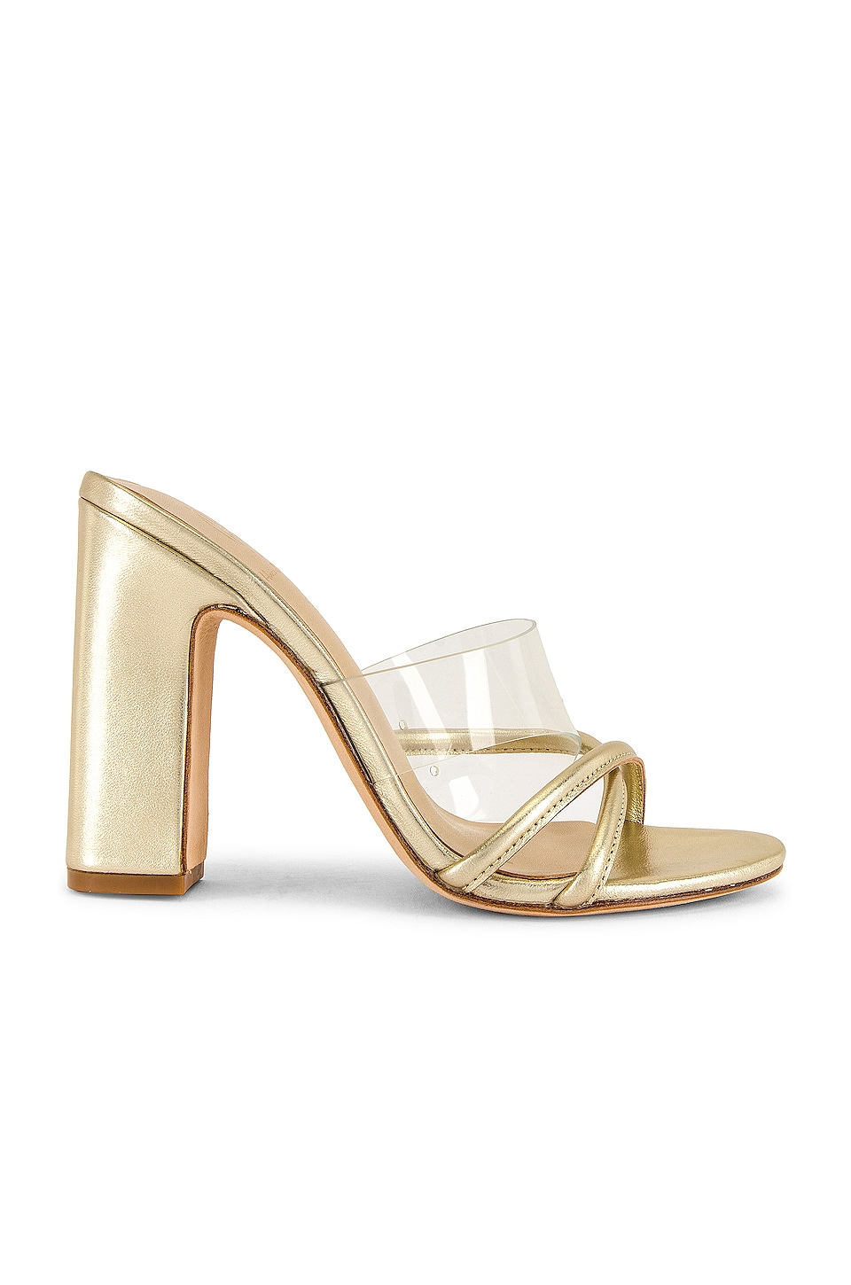 House of Harlow 1960 x REVOLVE Sasha Heel in Pale Gold