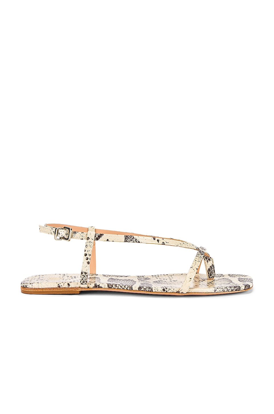 House of Harlow 1960 x REVOLVE Rory Flat in Grey Snake
