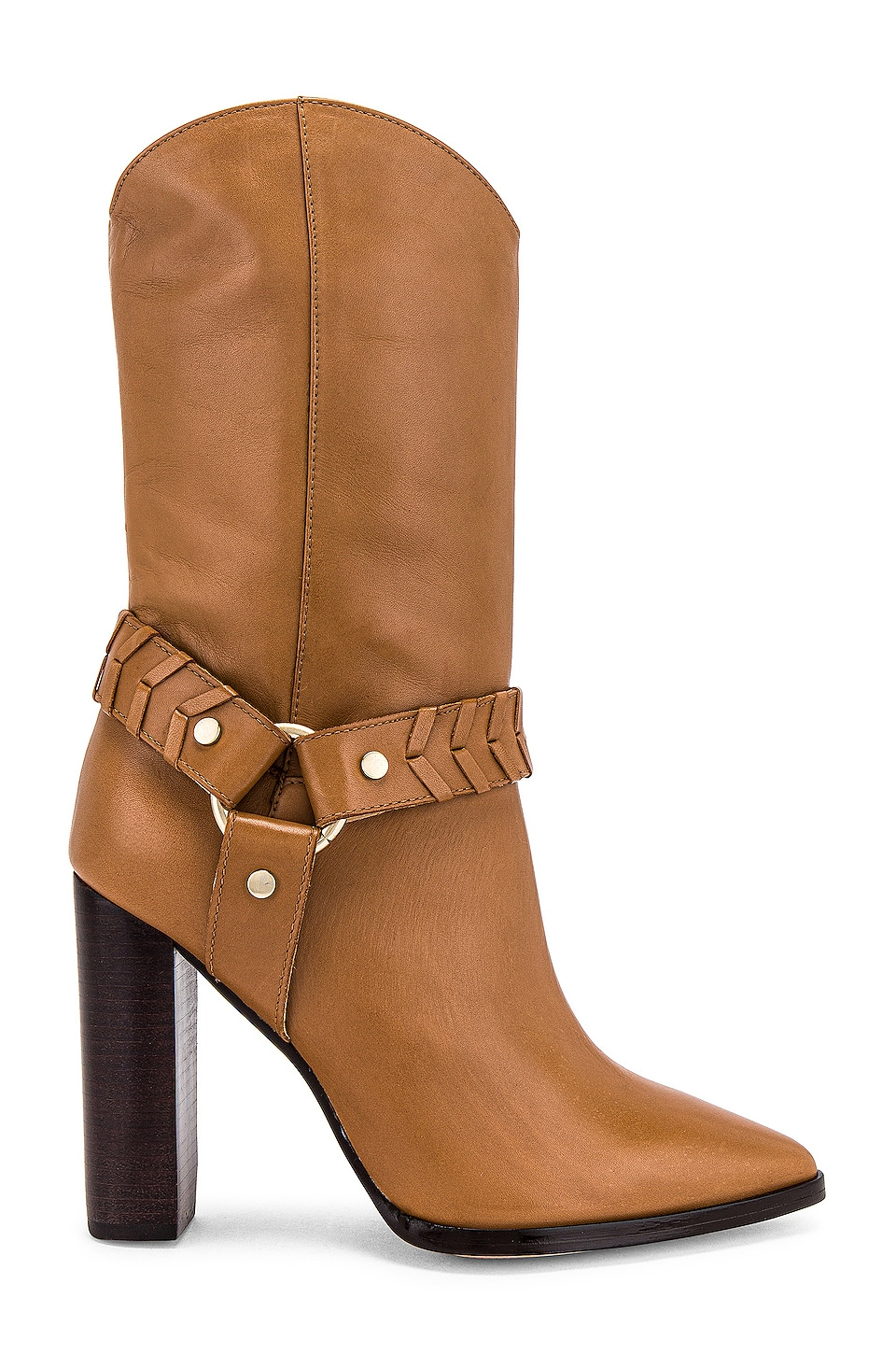 House of Harlow 1960 x REVOLVE Amelia Boot in Rust