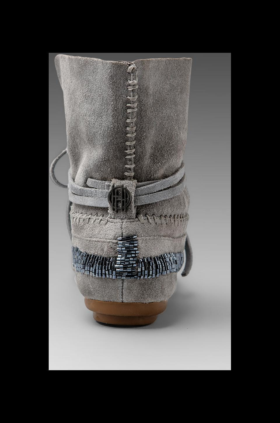 House of Harlow Mallory Moccasin in Dove Grey