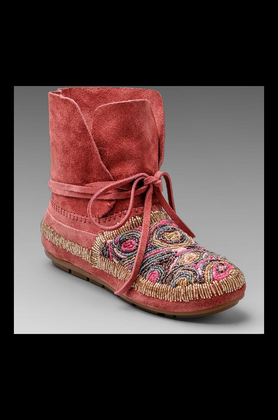 House of Harlow 1960 House of Harlow Mallory Moccasin in Pink