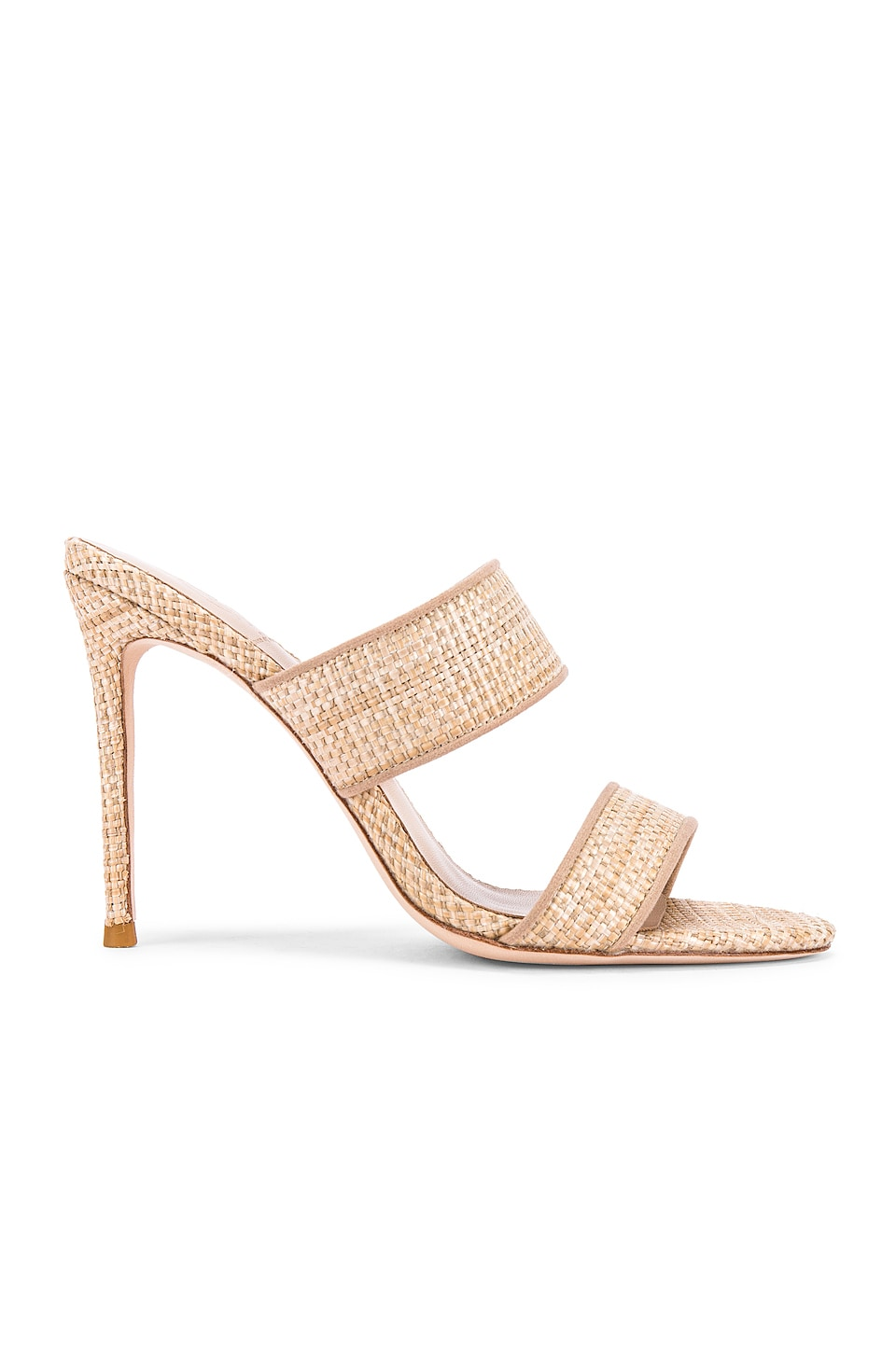 House of Harlow 1960 X REVOLVE Lane Heel in Natural