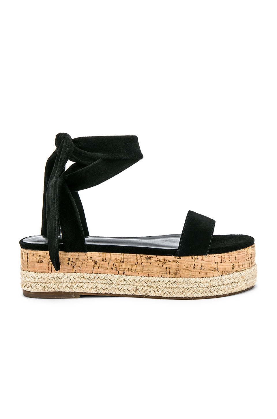 House of Harlow 1960 X REVOLVE Joey Sandal in Black