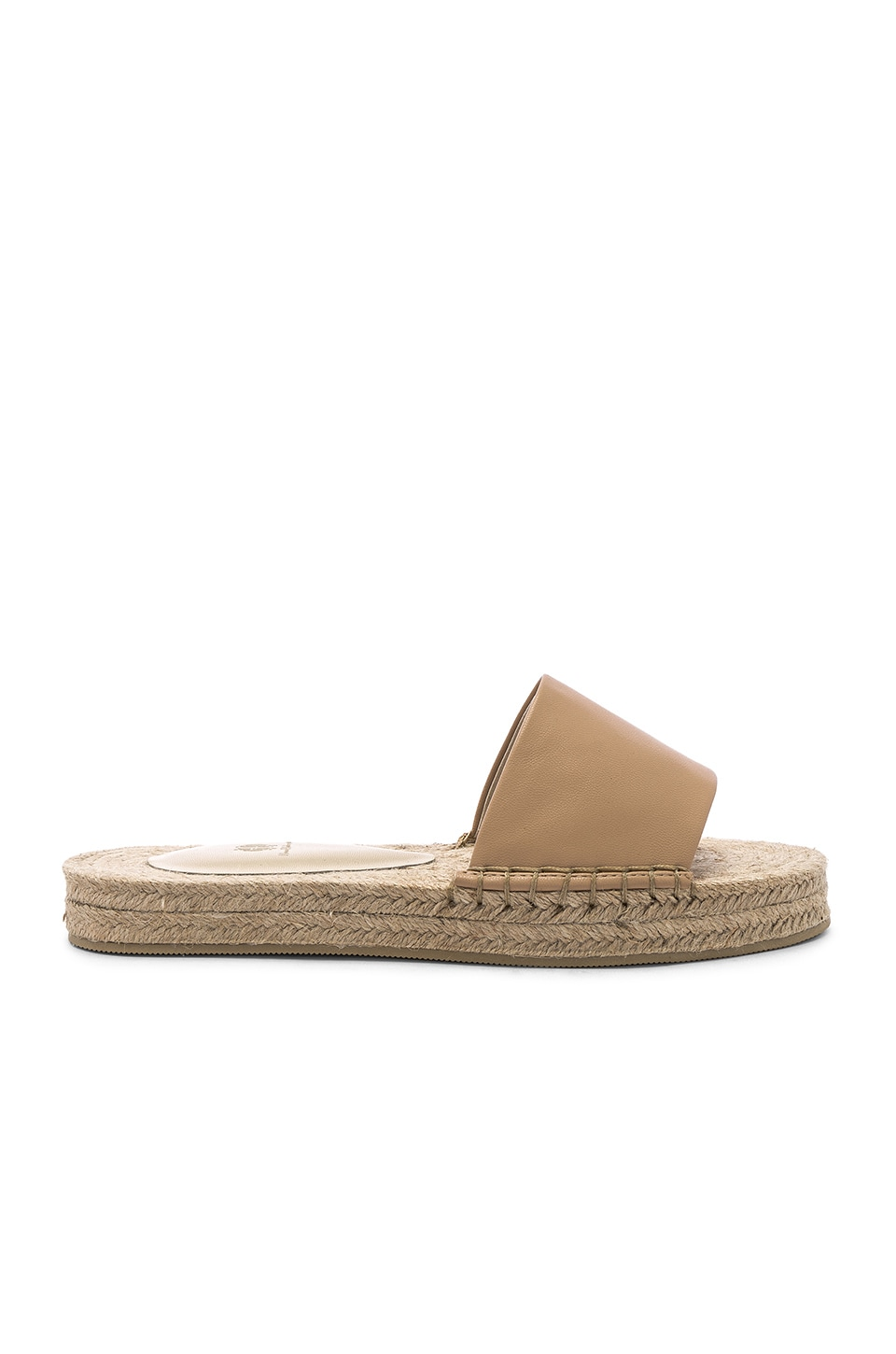 House of Harlow 1960 X REVOLVE Palmer Espadrille Slide in Nude