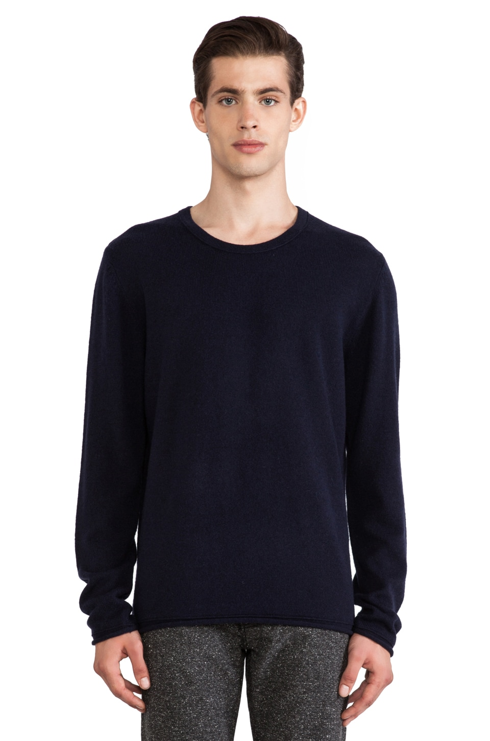 Hope Con Sweater in Dark Blue