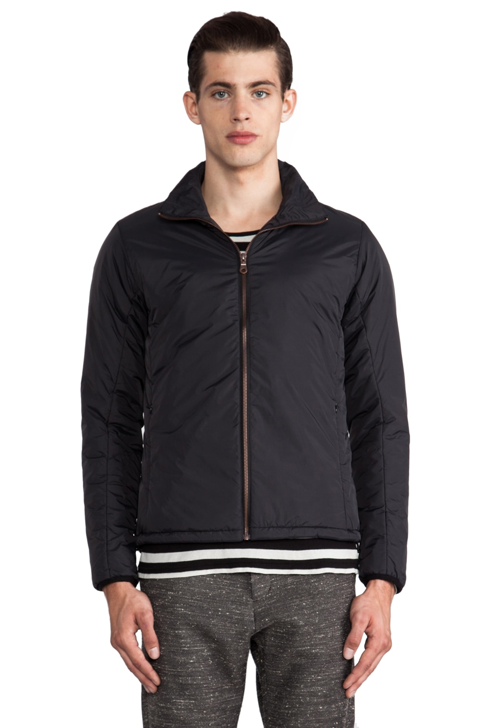 Hope Man Liner Jacket in Black