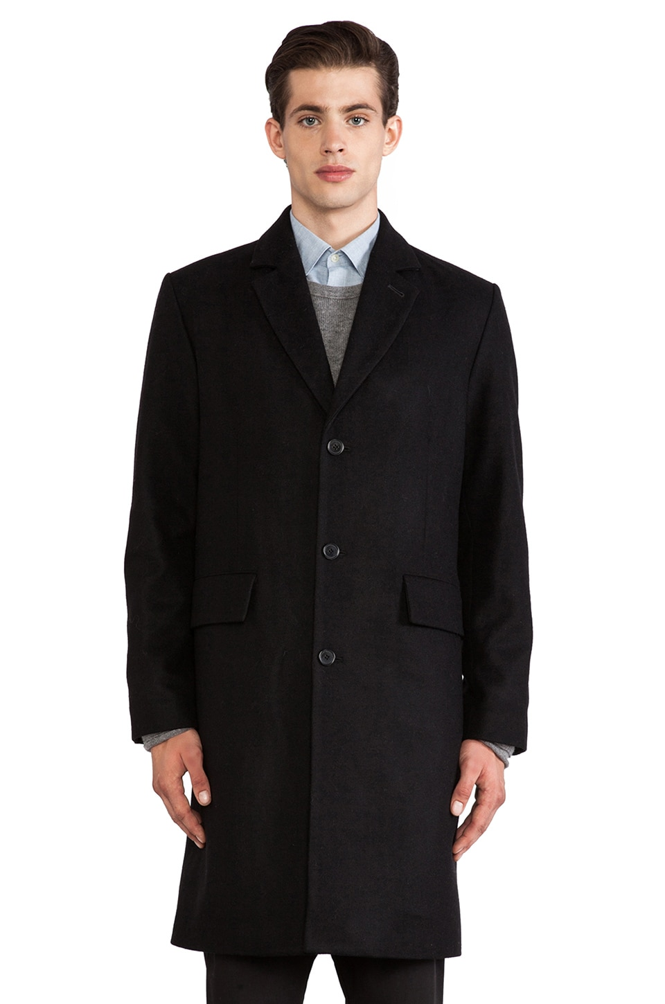 Hope Story Coat in Black