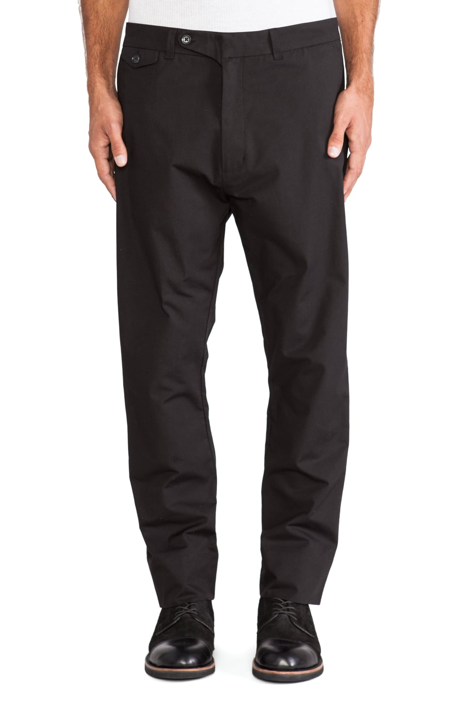 Hope Edwin Trouser in Black
