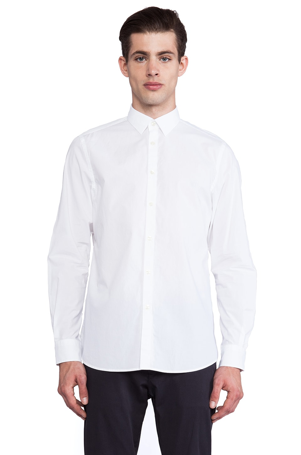 Hope Kagan Sharp Shirt in White