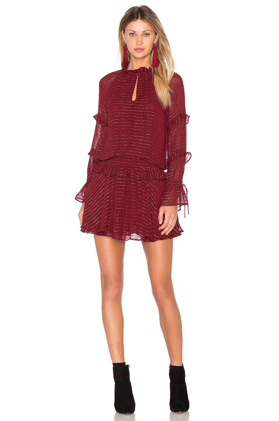 Long Sleeve Mini Dress by Hoss Intropia