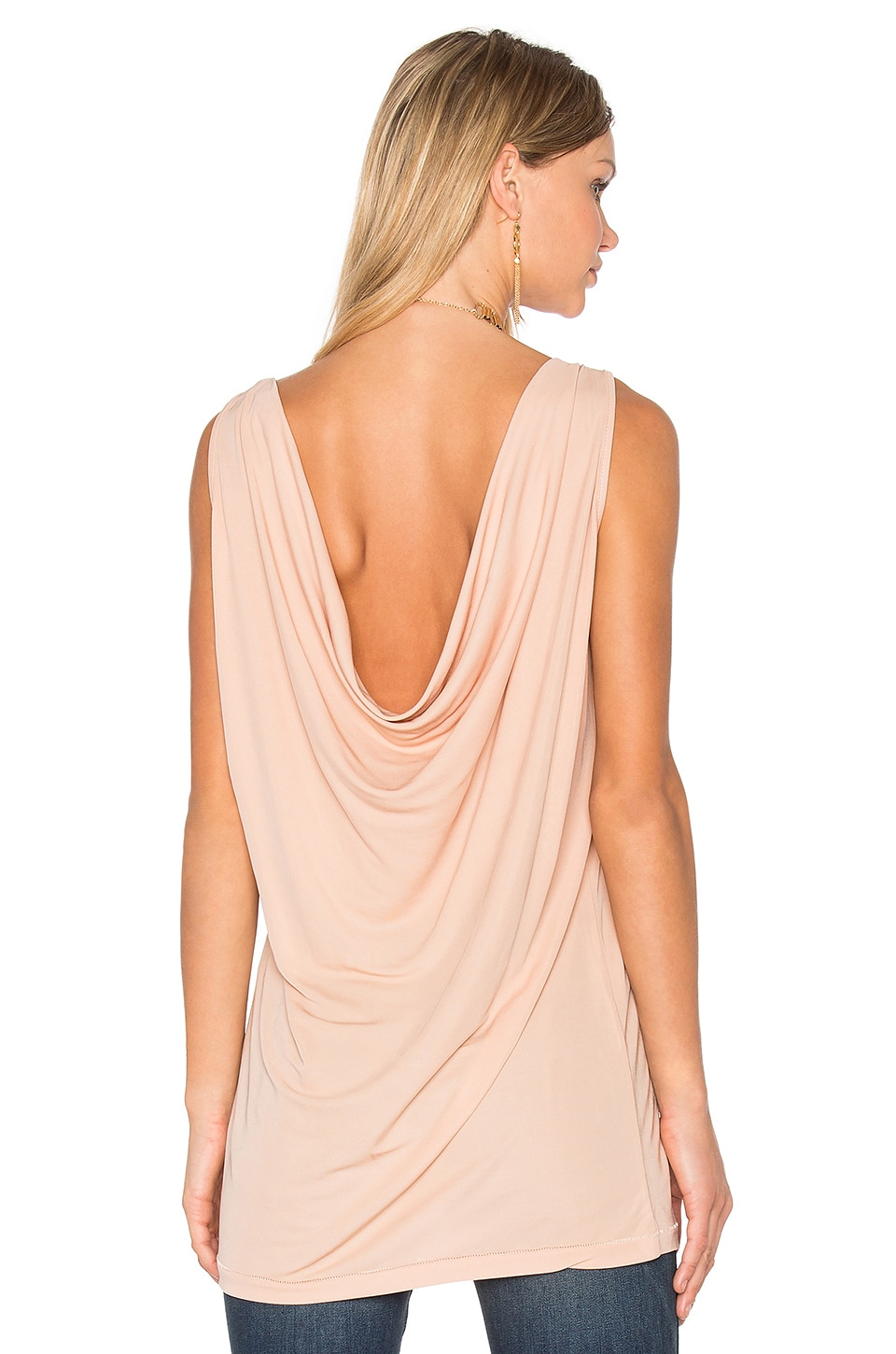 Draped Back Tank by Hoss Intropia