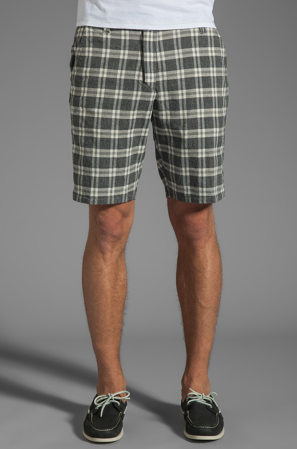 Howe Plaid Reversible Switchstance YD Stripe in Fade to Black